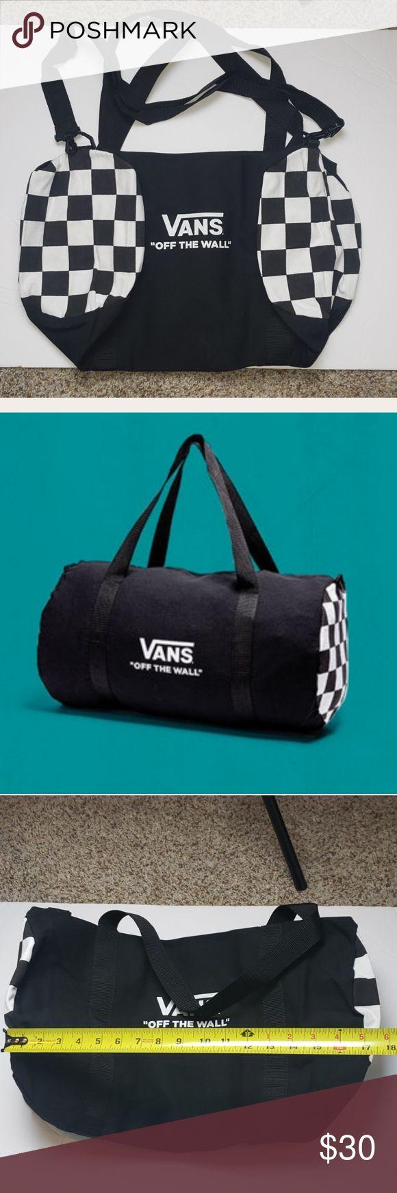 ⬇️Vans Duffle Bag | Vans bags, Duffle bag, Bags