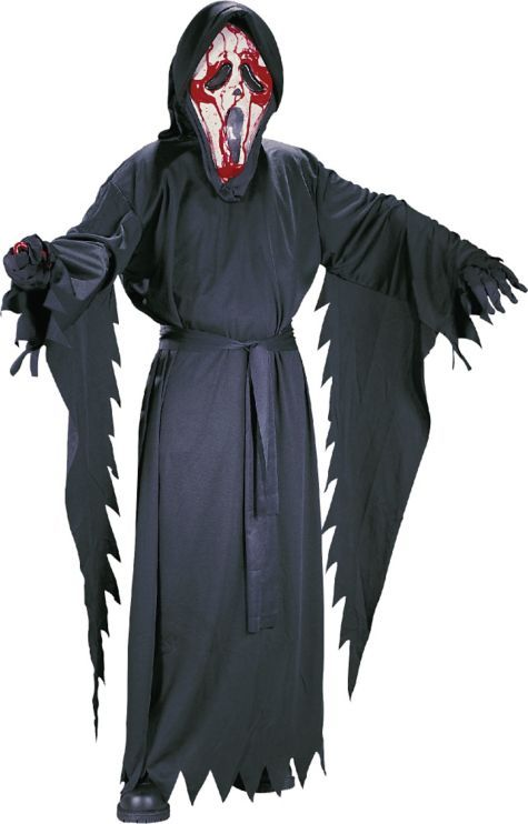 Scream Bleeding Ghost Face Costume for Boys - Party City