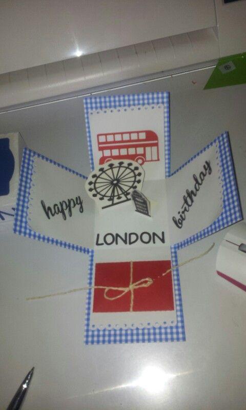 Geldgutschein für eine Reise nach London