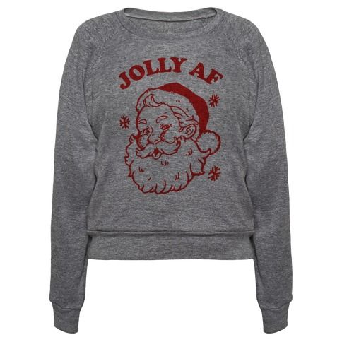 This christmas shirt is perfect for those who love the christmas season so much they are Jolly AF just like Santa Claus. This santa shirt is great for fans of christmas movies, christmas carols, santa memes and christmas gifts.