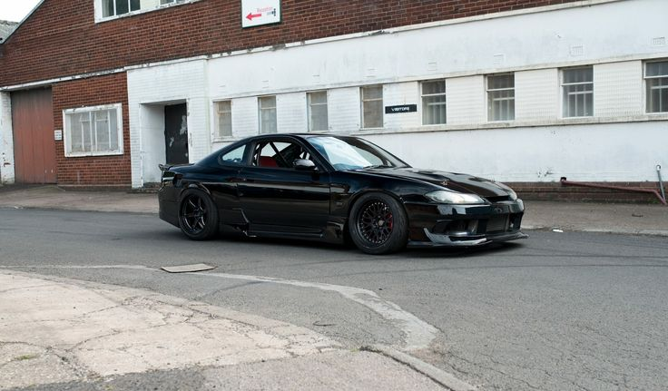 #Nissan #Silvia #S15 #Modified #Slammed #BlackOnBlack #JDM