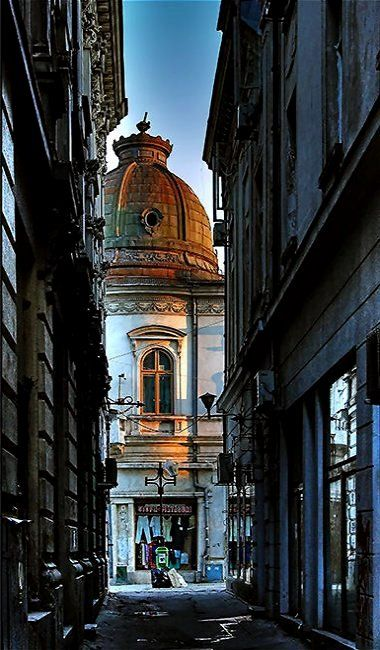 Old town of Bucharest, Romania | by Arnold Vancea