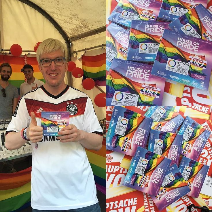 #HouseOfPride   Unser Sampler zum CSD 2017 gibt es auch das gesamte Wochenende über auf dem CSD Straßenfest in Köln. Der @mediamarkt_deutschland ist mit einem Stand auf dem Alter Markt vertreten. Holt euch eure Pride-CD auf dem @colognepride.