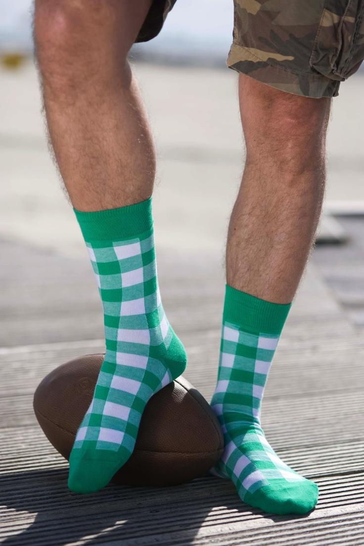 Bonnie Doon biedt de mannen deze zomer een variatie aan sokken, om bij iedere outfit te matchen.