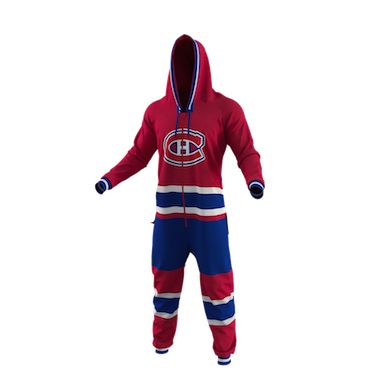 Montreal Canadiens Team Uniform Onesie