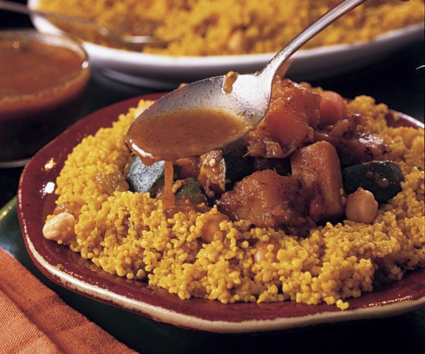 Couscous with Lamb & Vegetables Recipe