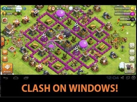 Clans for free of clash game pc online download
