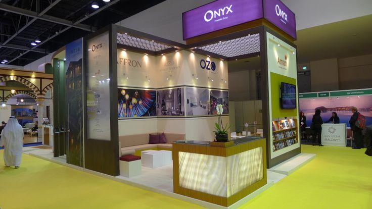 Design & installation at ATM Dubai 2013 by Elevations UK.