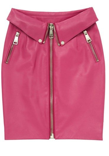 MOSCHINO - Skirt #alducadaosta #newarrivals #moschino #runway #capsule #collection #think #pink #style #fashion #cool #love #girl #women #apparel #accessories