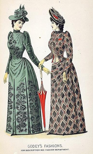 September 1890 Fashion by christine592, via Flickr