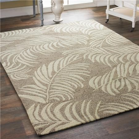 Breezy Island Palms Indoor Outdoor Rug   Shades Of Light