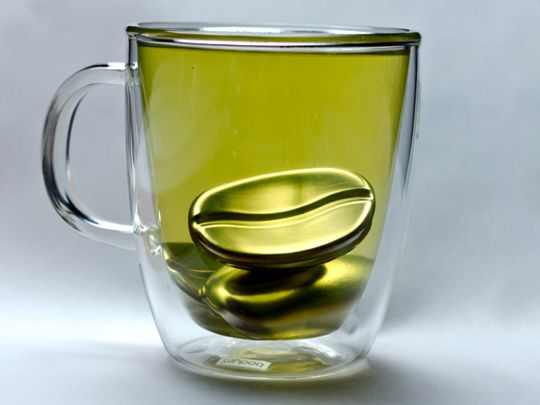 This magic bean keeps your tea or coffee hot for 5 hours. Gift idea!! Or, For U idea