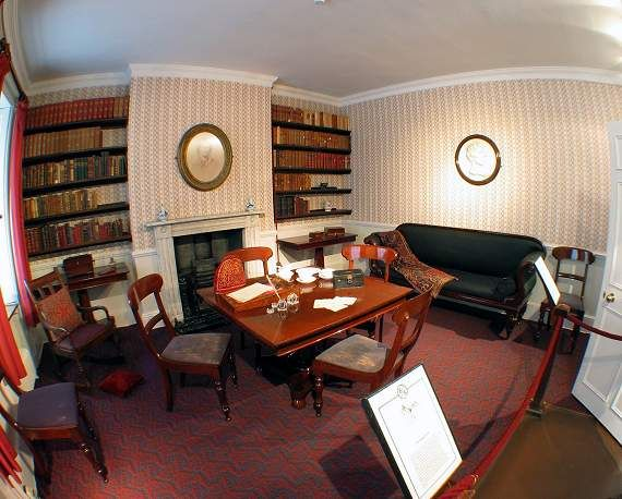 Bronte Parsonage, Haworth - Dining Room