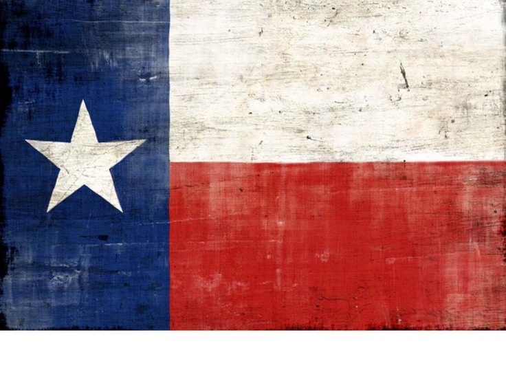 Texas Flag painting