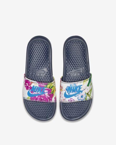 best sneakers 0790f f5649 Claquette Nike Benassi JDI Floral pour Femme