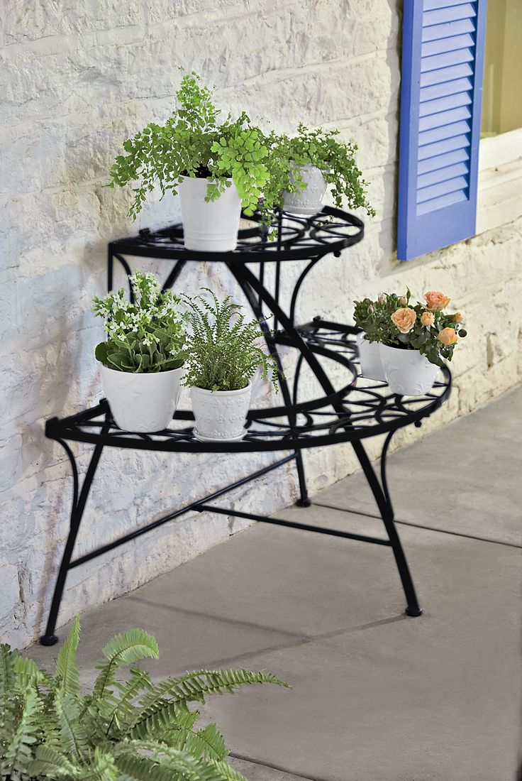 61 Best Tiered Plant Stand Images On Pinterest