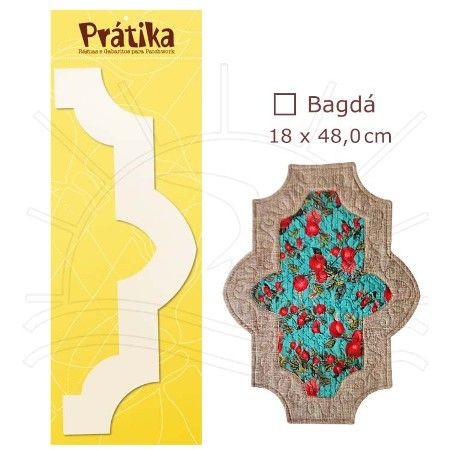 Régua para Barrados Prátika - Bazar Horizonte