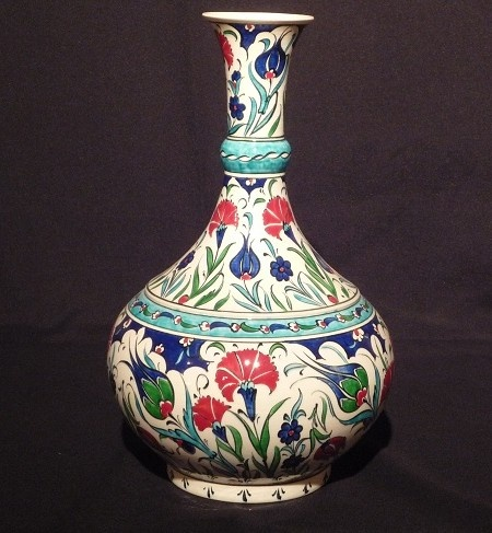 I love just about every example of iznik pottery that I have seen.