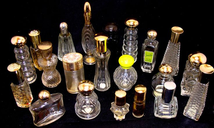 Old perfume bottle lot-small glass perfume bottles-vintage perfume bottle lot-glass perfume bottle lot-21 glass perfume bottles by BECKSRELICS on Etsy