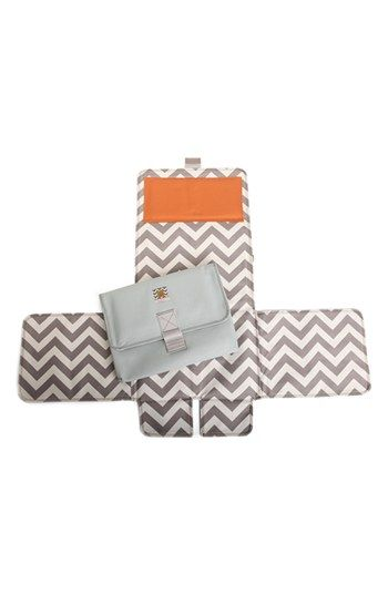 Thought this was very handy.  Messy Marvin 'Mobile Marvin' 3-in-1 Changing Pad available at #Nordstrom
