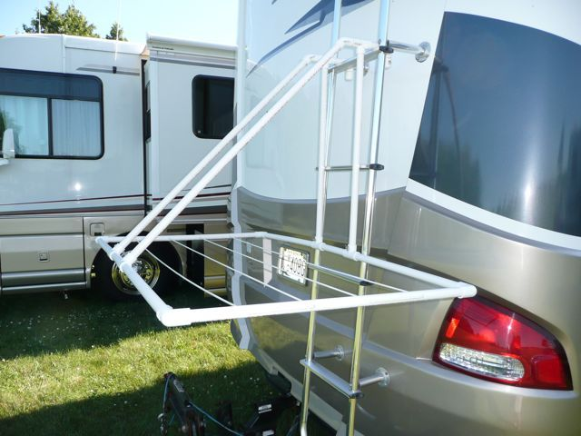 RV NOW  Collapsible RV clothesline is perfect for RV living but their are  many different131 best RV Ideas and Storage images on Pinterest   Camping ideas  . Outside Shower Door For Rv. Home Design Ideas