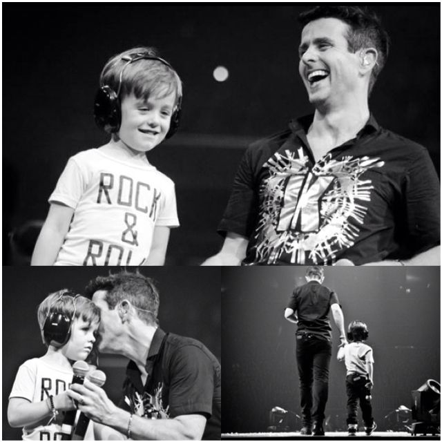 Joey Mcintyre and Griffin❤