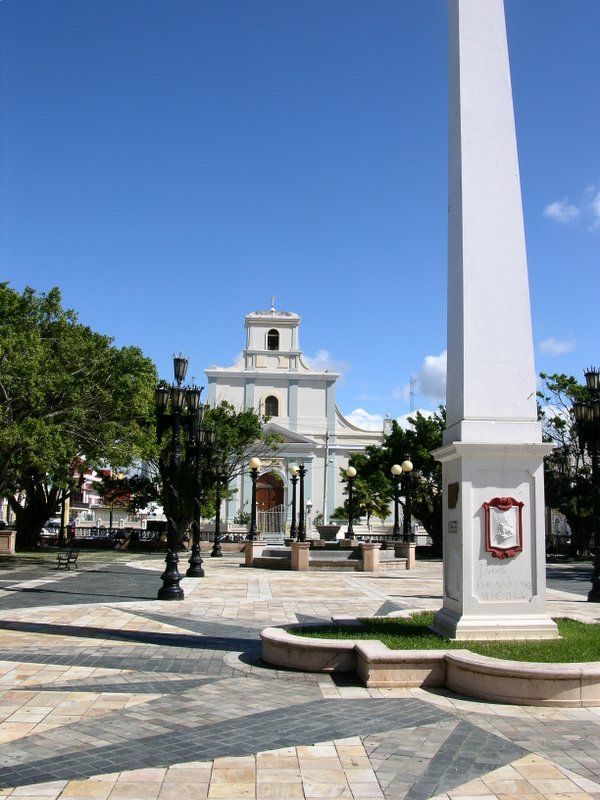 Plaza De Recreo Luis Munoz Rivera In Arecibo, Puerto Rico -2822