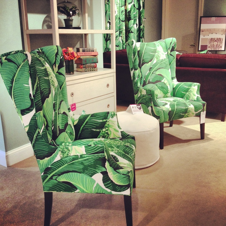 Dorothy Draper Fabric On Crlaine Chairs Hpmkt New