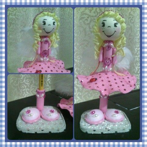 Кукла на ручку