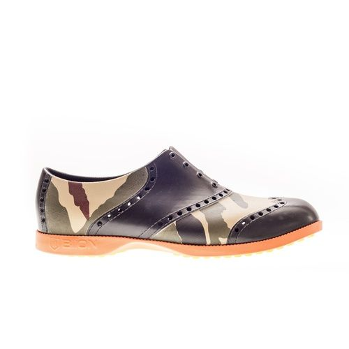 Biion Oxford Pattern Unisex Golf Shoes - Camo