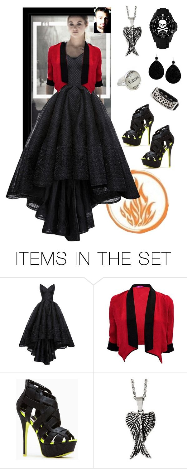 """""""be dauntless"""" by lifeinpictures ❤ liked on Polyvore featuring art, divergent, dauntless and tris"""