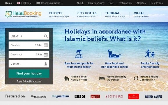 Best 9 Islamic Travel Websites With Good Seo - Islamic-Travel-Website-Halal-Booking