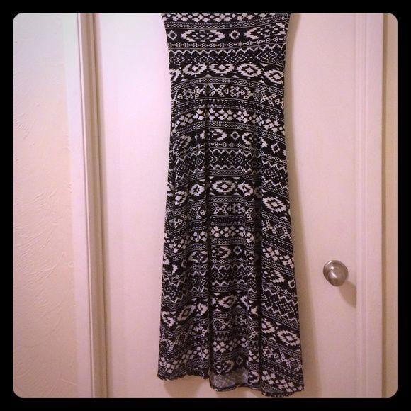 LulaRoe maxi skirt Can be used as a skirt or dress LulaRoe Skirts Maxi