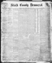 STARK COUNTY - CANTON - About The Stark County Democrat. (Canton, Ohio) 1833-1912 « Chronicling America « Library of Congress