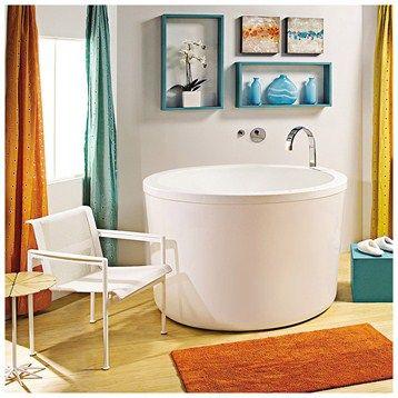 "MTI Yume Soaker Tub (52"" x 35.5"") - White"