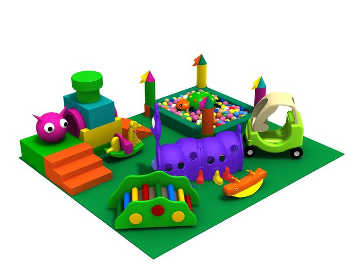 indoor playground ideas for home  | Kids Indoor Playground Design Ideas : Indoor Kids Playground With Cool ... I know its not real but its still really cute and safe for all ages idea for indoor at home playroom, maybe not  so much on the rockers lol