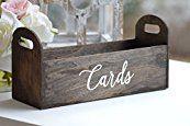 Rustic Wedding Card Box - Rustic Wedding Decorations - Unique Rustic Wedding Invitations.com