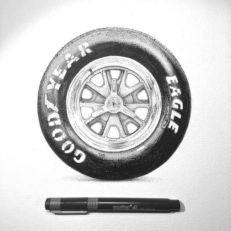 GOODYEAR EAGLE wheels dotwork