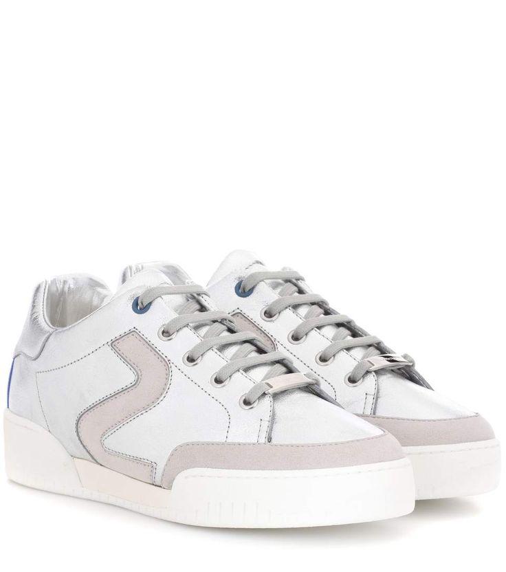 STELLA MCCARTNEY Stella faux leather sneakers. #stellamccartney #shoes #sneakers