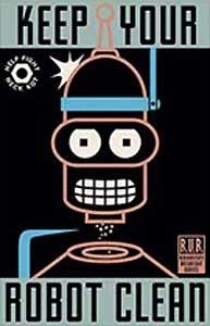Futurama - Keep Your Robot Clean - 20th Century Fox - World-Wide-Art.com - $200.00 #Futurama