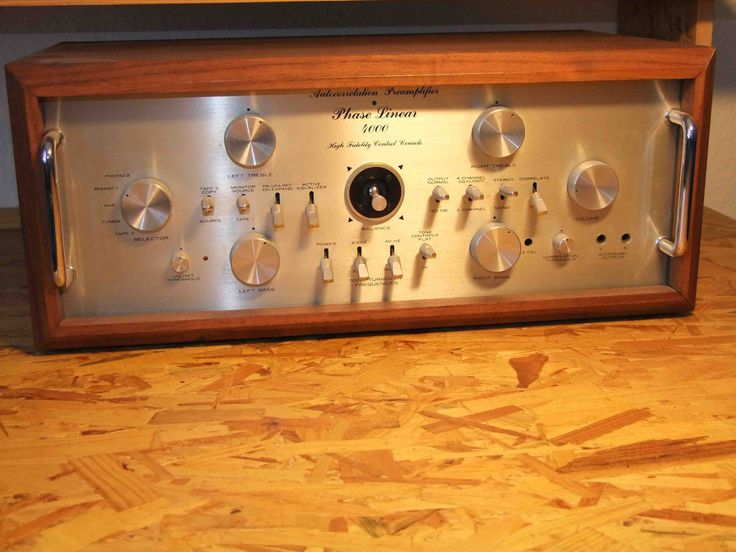 Phase linear 4000 -Preamplifier