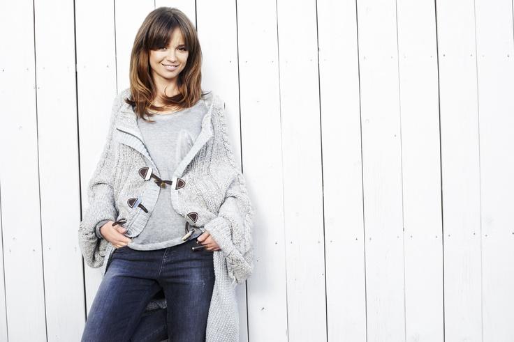 Styl Ani #Anna #Przybylska #sweater #style #spring
