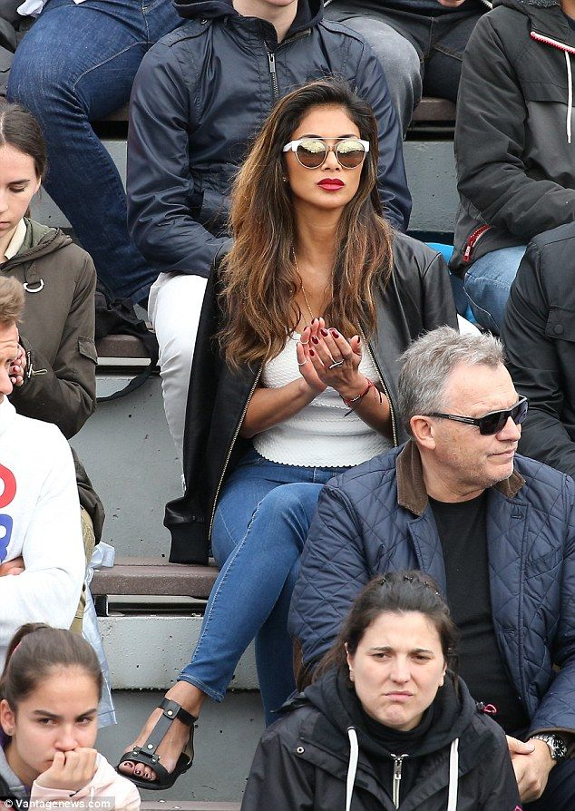 Nicole Scherzinger defies rumours of split from tennis ace beau Grigor Dimitrov | Daily Mail Online