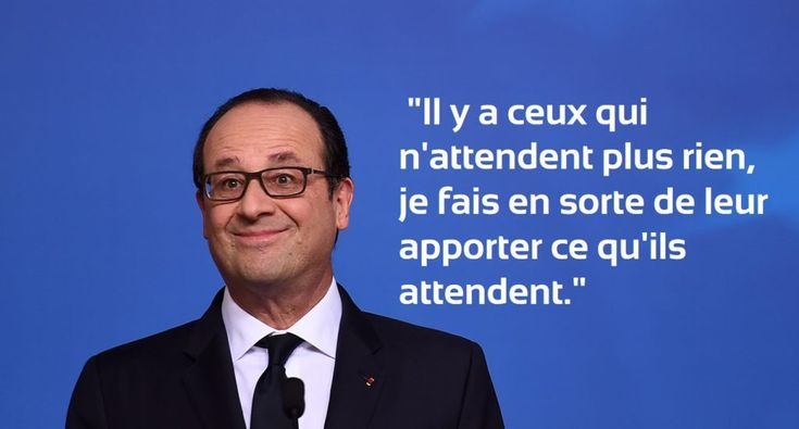 citation culte de francois hollande