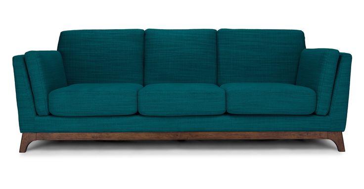 Ceni Lagoon Blue Sofa - Sofas - Article   Modern, Mid-Century and Scandinavian Furniture