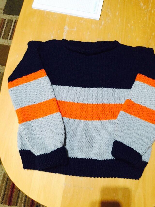Suéteres de niño y niña