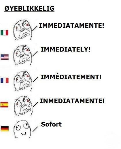 For once, German is shorter. A positive look at the German language :)
