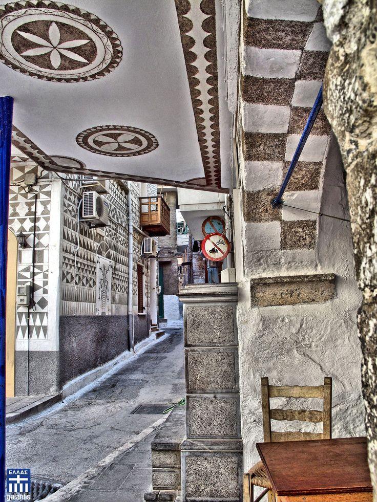 Pyrgi . Chios island