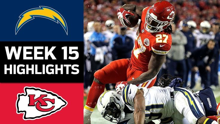 Chargers vs. Chiefs | NFL Week 15 Game Highlights - NFL News Videos
