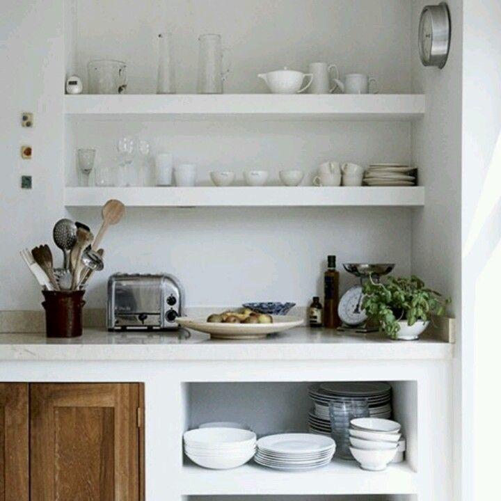 Kitchen Shelf Pinterest: 162 Best Kitchen: Open Shelves Images On Pinterest